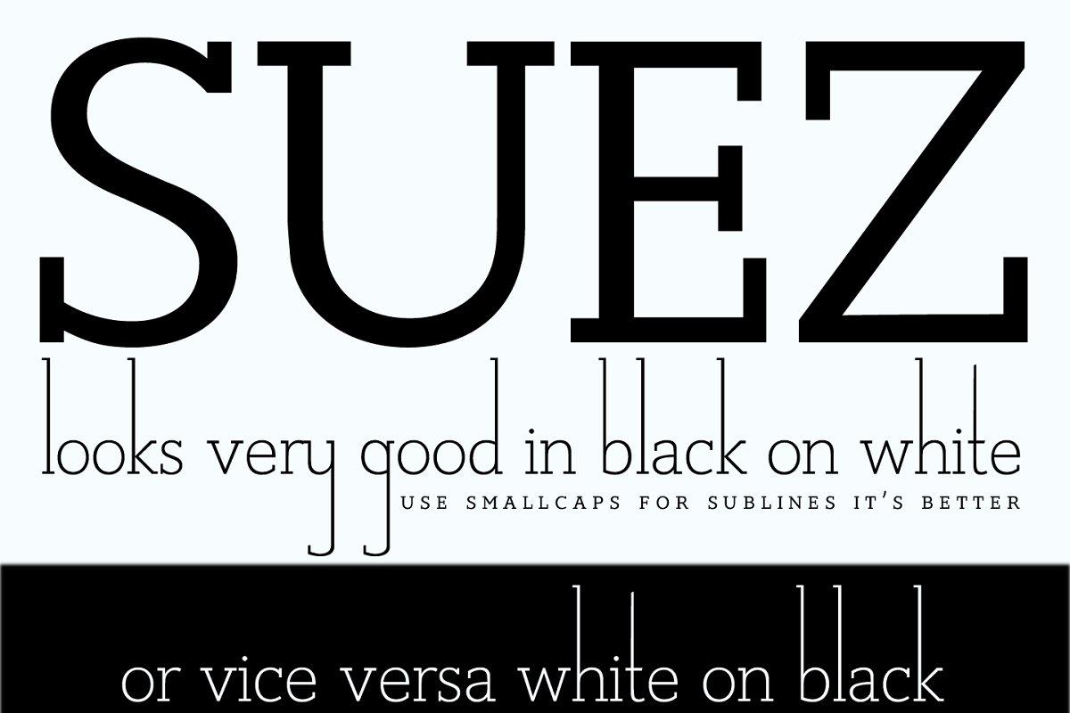 Suez font ~ Fonts ~ Creative Market