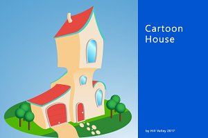 Cartoon style house