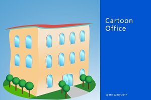 Cartoon style Office