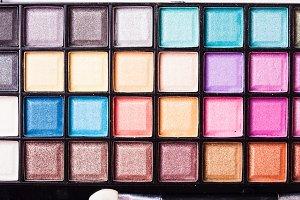 Bright eyeshadow palette
