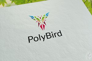 Poly Bird - Logo Template