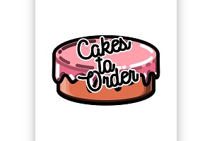 Color vintage cakes to order emblem