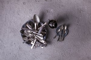 Vintage utensils collection