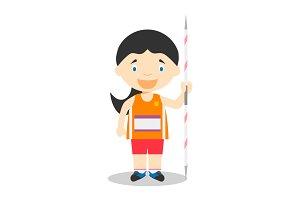 Javelin Throw F: Sports Series