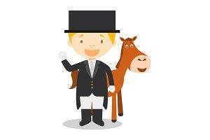 Equestrian Dressage M: Sports Series