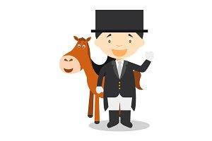 Equestrian Dressage F: Sports Series