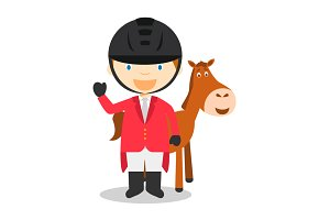 Equestrian Jumping M: Sports Series