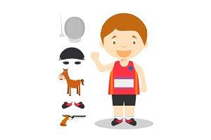 Modern Pentathlon M: Sports Series