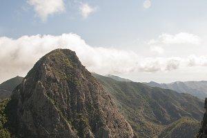 mountains of the island Gomera