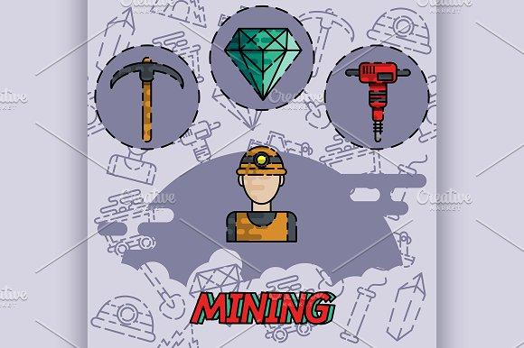 Mining Flat Concept Icon