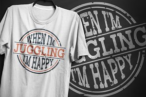 Juggling - T-Shirt Design