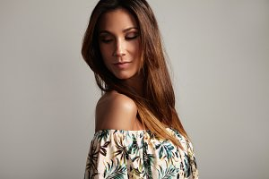beauty Spanish woman