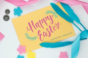 18 Easter photos and mockups