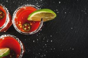 Mexican drink Sangrita