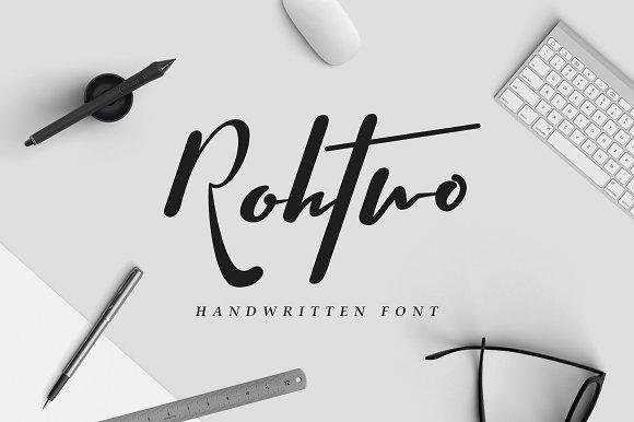 Rohtwo Bold Signature