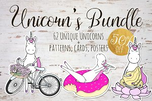 50%off Unicorn's Bundle!
