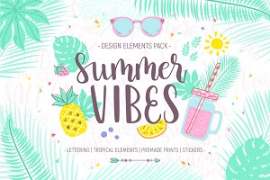 Summer Vibes Design Pack