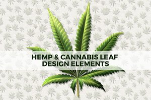 Cannabis & Hemp Leaf