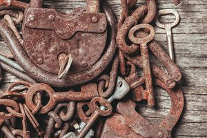 The old keys