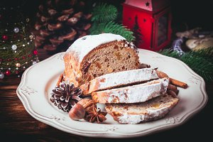 Christmas cake - Stollen