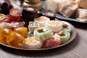 Turkish delight rahat lokum
