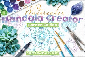 Watercolor Mandala Creator Kit V1.0