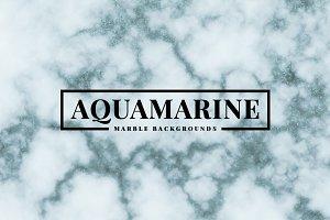 Aquamarine Marble Backgrounds