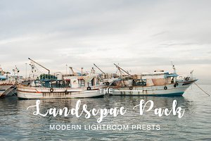 Landscape Pack Lightroom Presets