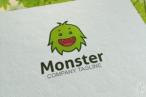 Little Monster - Logo Template