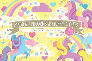Magical Unicorns & Fluffy Clouds