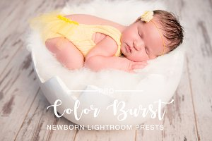 Color Burst Newborn Preset LR PS