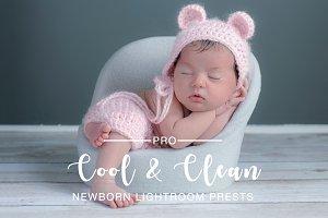 Cool & Clean Newborn Preset LR & PS
