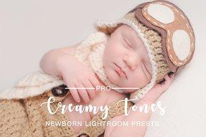 Creamy Tones Newborn Preset LR & PS