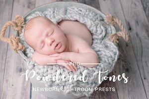 Powdered Tones Newborn LR PS Presets