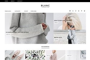 Blanc Wordpress Theme