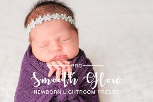 Smooth Glow Newborn Preset LR & PS