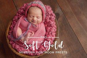 Soft Gold Warming Preset for Newborn