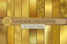 gold foil backgrounds