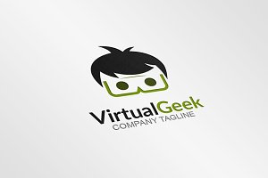 Virtual Geek - Logo Template