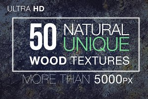 50 Wood & Tree Textures Bundle Pack