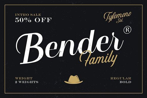 Bender Script 50% Off