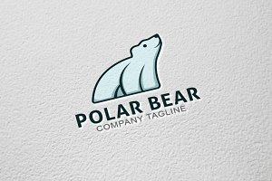 Polar Bear - Logo Template