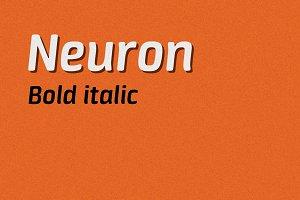 Neuron bold italic