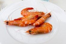 Shrimps plate