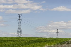 Two High Voltage towers
