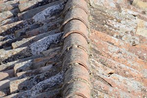 Old spanish roof