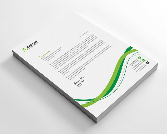 Creative Letterhead in Stationery Templates - product preview 1