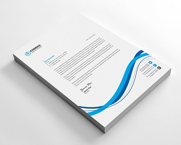 Creative Letterhead in Stationery Templates - product preview 2