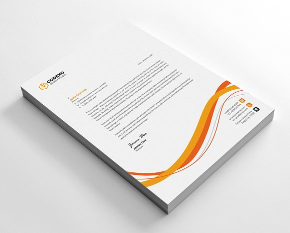 Creative Letterhead in Stationery Templates - product preview 5