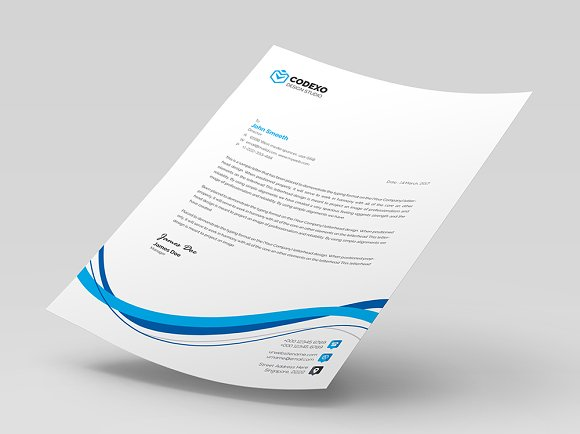 Creative Letterhead in Stationery Templates - product preview 6